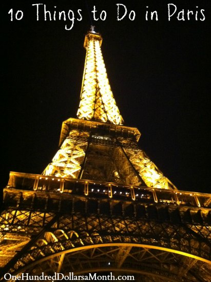 10 Things to Do in Paris