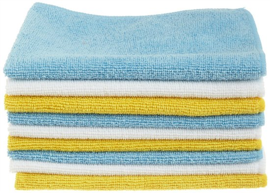 AmazonBasics Microfiber Cleaning Cloths