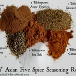 DIY Asian Five Spice Seasoning Recipe