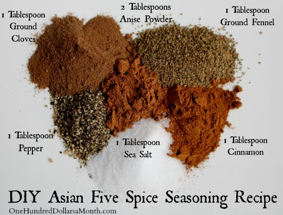 DIY Asian Five Spice Seasoning Recipe