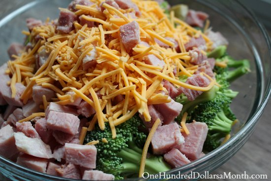 Ham and Broccoli Breakfast Casserole