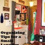 Organizing Tips for a Tiny Laundry Room