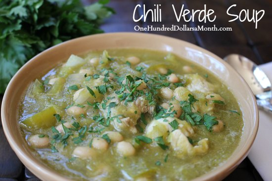 Slow Cooker Recipe Chili Verde Soup