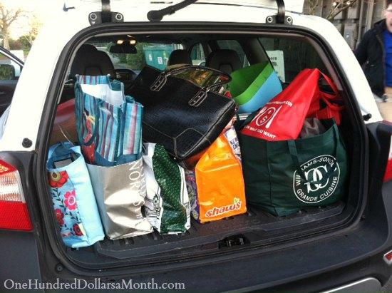 Thrift store donation