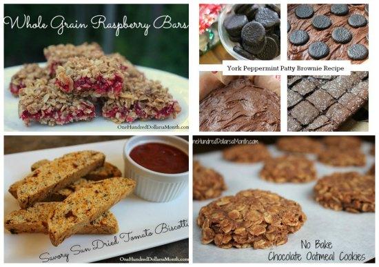 Weekly Meal Plan - Menu Plan Ideas Week dessert