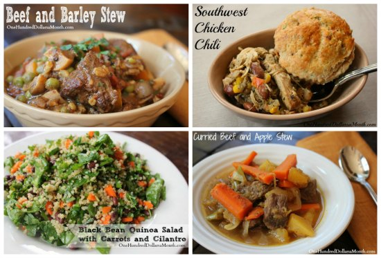 Weekly Meal Plan – Menu Plan Ideas Week 4 of 52