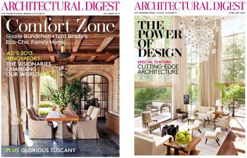 architectural; digest magazine