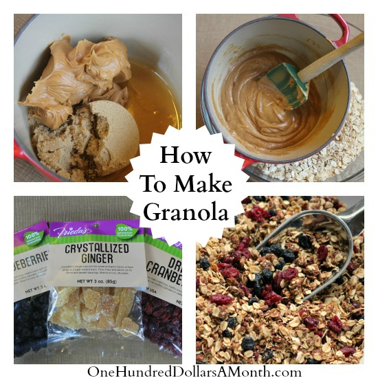 The Best Granola Recipes - One Hundred Dollars a Month