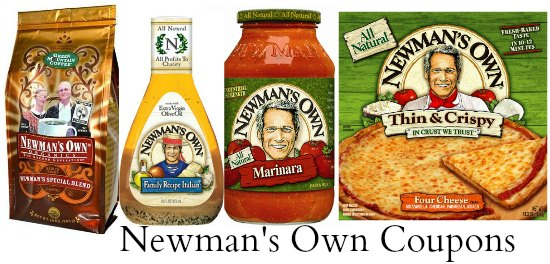 newman's own coupons