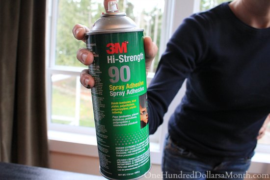 3m hi strength spray adhesive
