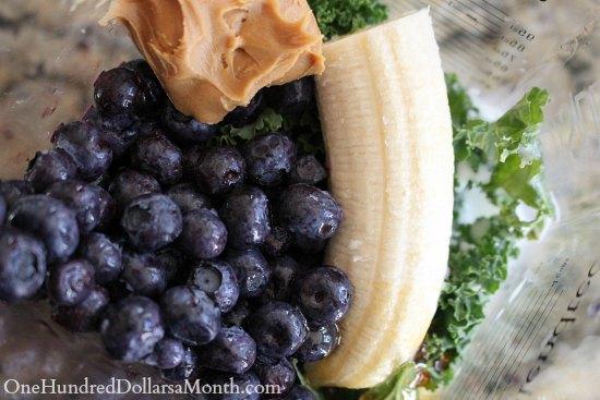 Blueberry Kale Smoothie