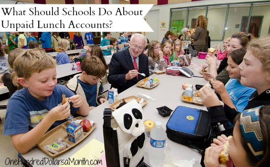 What Should Schools Do About Unpaid Lunch Accounts?