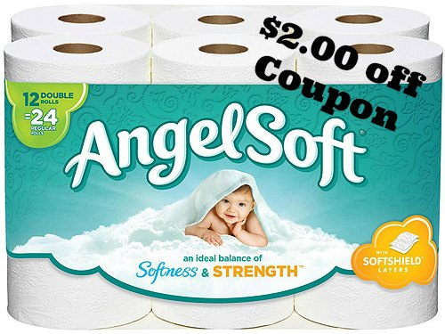 angel soft toilet paper coupon