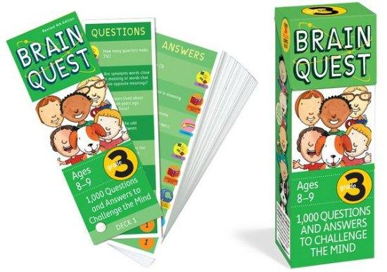 brain quest flash cards
