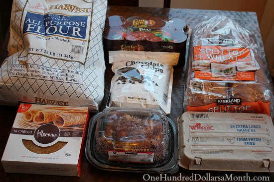 How to Feed Your Family for $100 a Month – Week 6 of 52