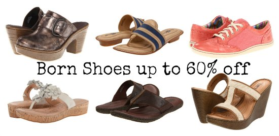 discounts on born shoes
