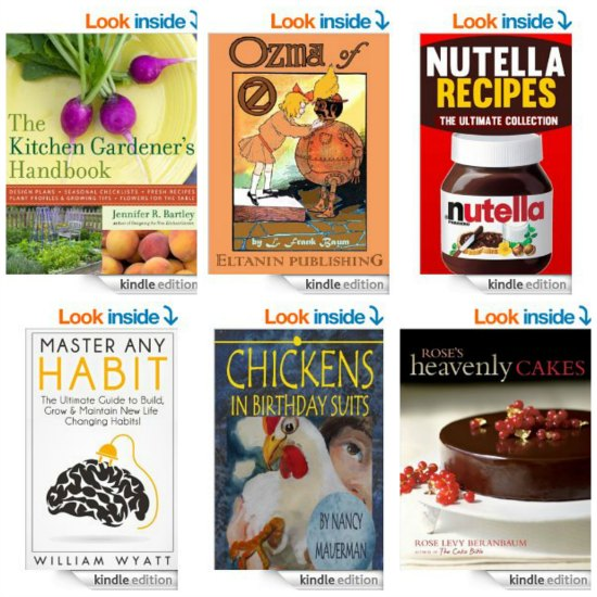 Missing Roosters, Free Kindle Books, Cast Iron, Garden Deals, Pet Smart, The North Face and More
