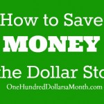 how to save money at the dollar store