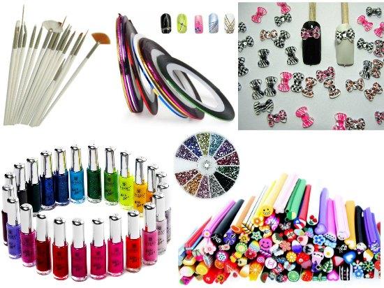 manicure supplies