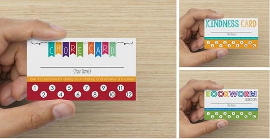 responsibility cards for kids