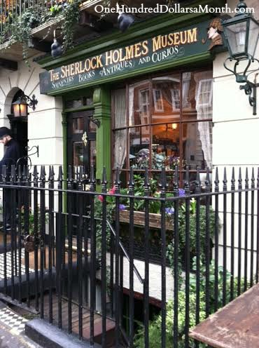 sherlock homes 221b baker street london