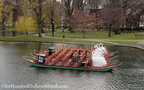 swan boats Boston
