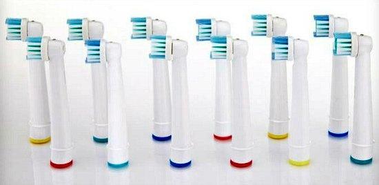 toothbrush heads