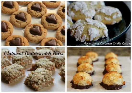 weekly menu plan cookies