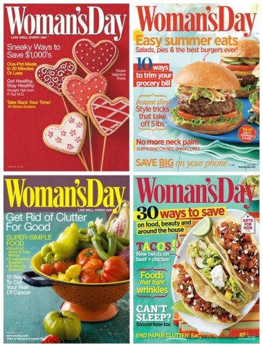 woman's day magazine coupons