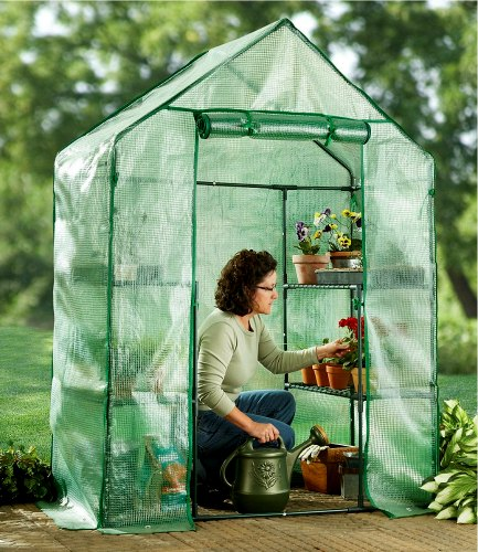CASTLECREEK Compact Walk - in Greenhouse