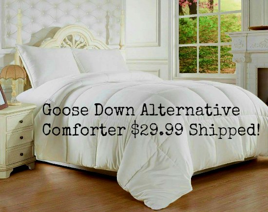 Clara Clark ® Goose Down Alternative Double Fill Comforter