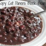 Copy Cat Panera Black Bean Soup