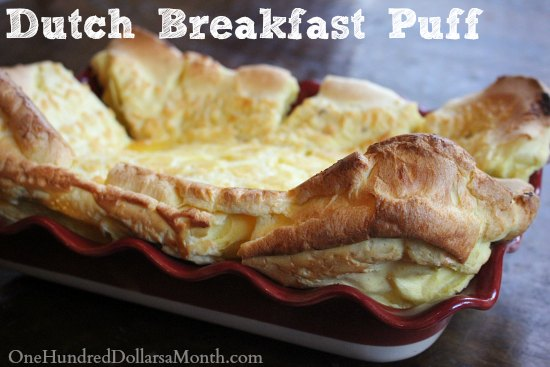 Recipe: Dutch Breakfast Puff