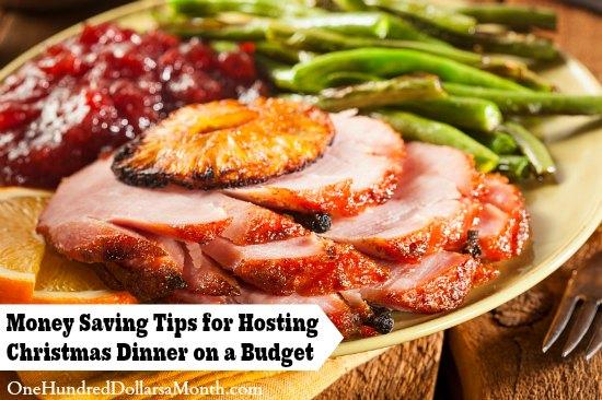 Money Saving Tips for Hosting Christmas Dinner on a Budget