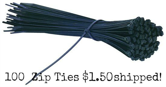 black-zip-ties