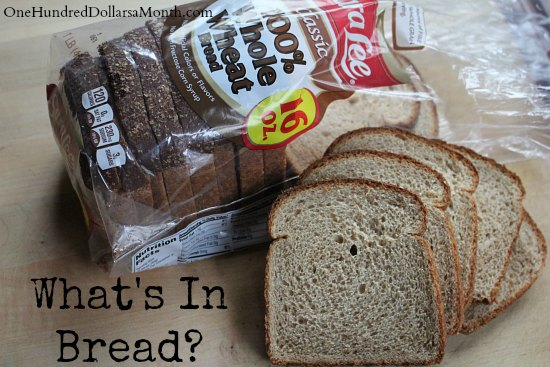 What's In My Food – Commercial Bread