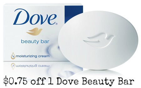 Dove bar soap coupons