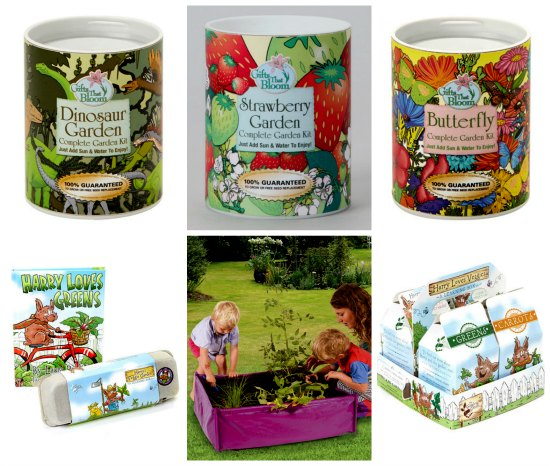 gifts that bloom kids garden sets