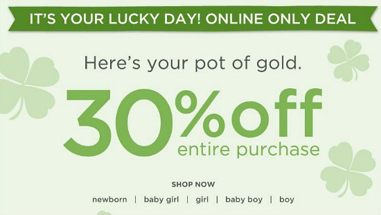 gymboree sale coupon