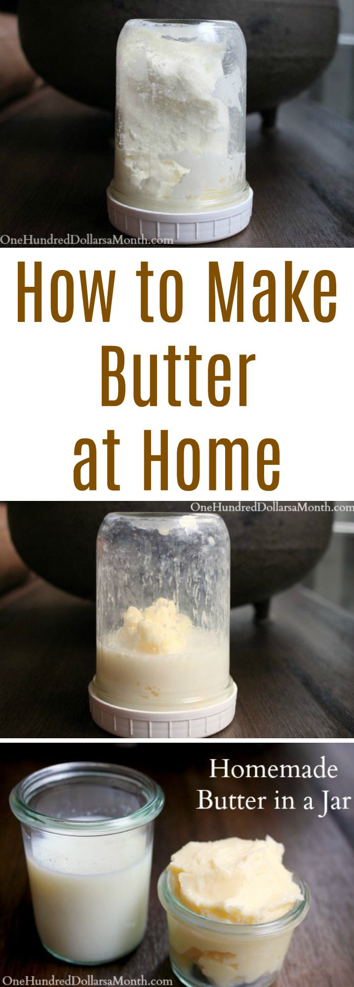 Homemade Butter in a Jar – Easy Kids Projects
