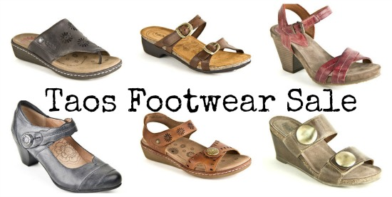 taos footwear sale