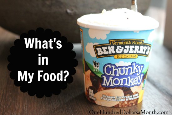 What's In My Food? – Commercially Made Ice Cream