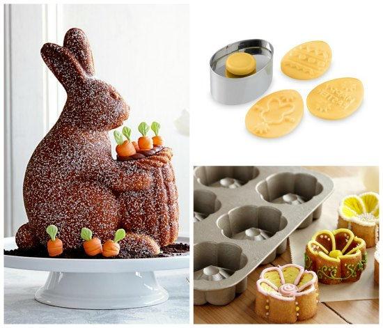 williams sonoma Easter Bakeware