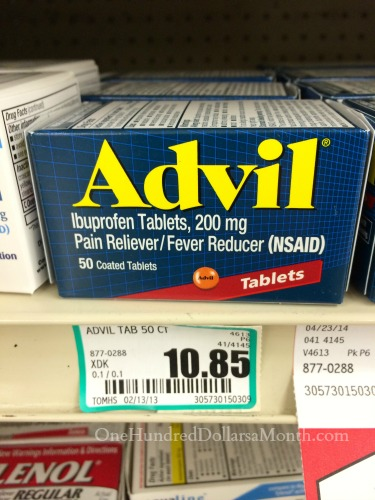 How Much Do Groceries Cost in Craig, Alaska advil