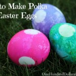 How to Make Polka Dot Easter Eggs