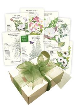 Giveaway – 3 Botanical Interests Flower Seed Collections