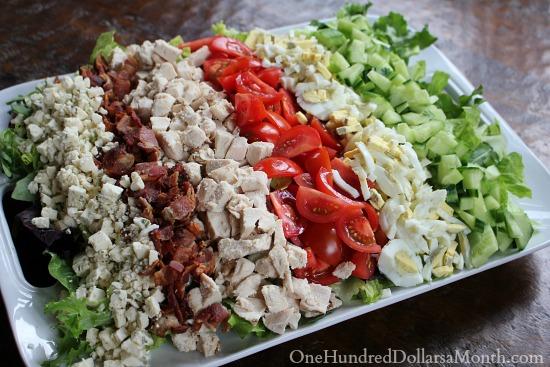 cobb salad cobb salad cobb macaroni salad layered cobb salad chicken ...