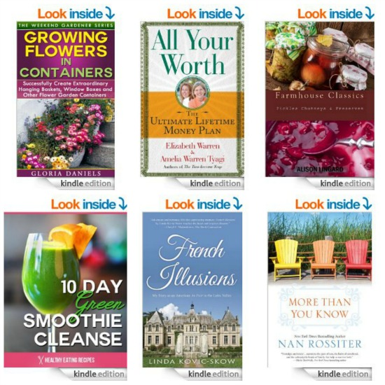 Free Kindle Books, Squirrel Underpants, Rockport Shoes, Tube Dresses, All Recipes Subscription and More