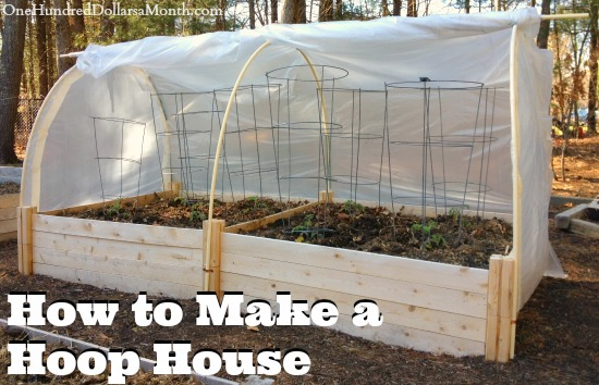 how to make a hoop house