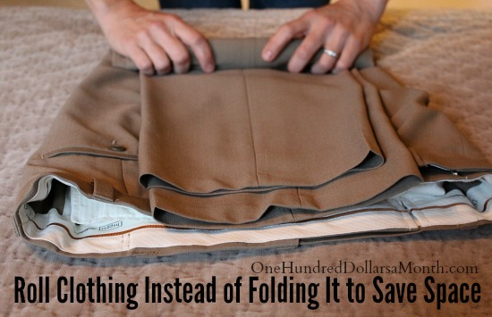 Do You Roll or Fold Your Clothes When Packing?